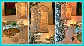 Blooming on Bainbridge: DIY ScraPPy HaPPy Lamps!