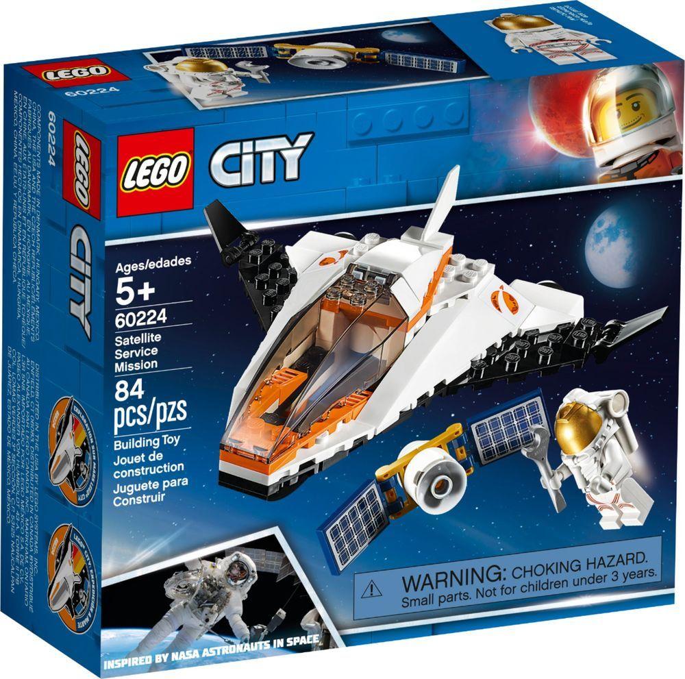 Lego City Satellite Service Mission 60224 Lego City Lego City Space Lego City Sets