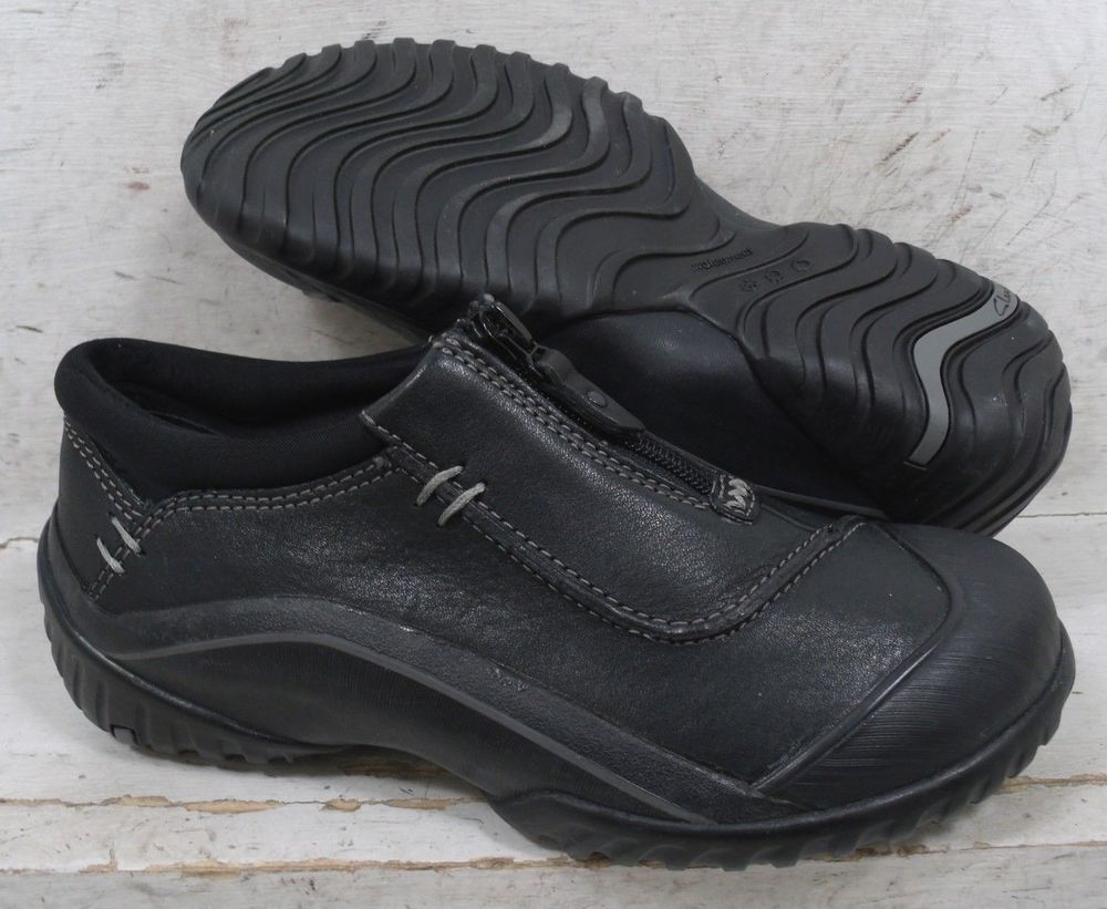 NEW Clarks Muckers Womens Black Leather