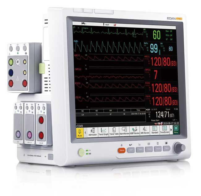 Edan Elite V8 Modular Patient Monitor  Modular Design Large