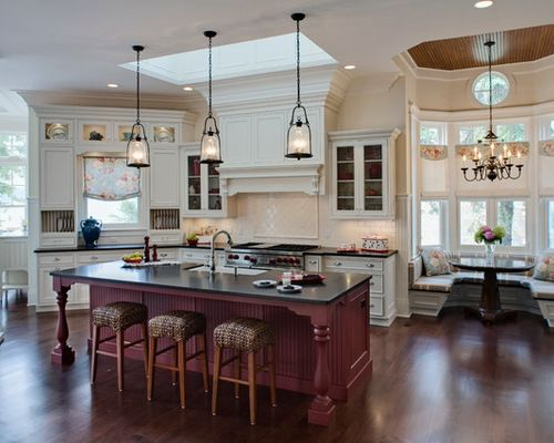 The Homeowner Came To Us With Her Architectural Plans For A Beautiful  Lakeside Luxury Home. Design KitchenKitchen ...