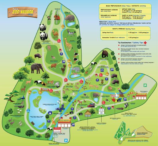 Ticket Price Zoo Negara Malaysia 2015