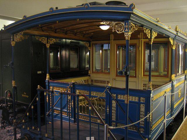 Saloon Coach of the Bavarian King Ludwig II