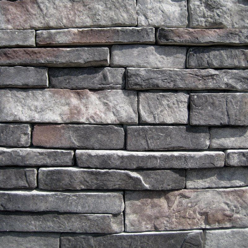 Builddirect Black Bear Stone Veneer Stacked Stone Midnight In 2020 Manufactured Stone Veneer Stone Veneer Manufactured Stone