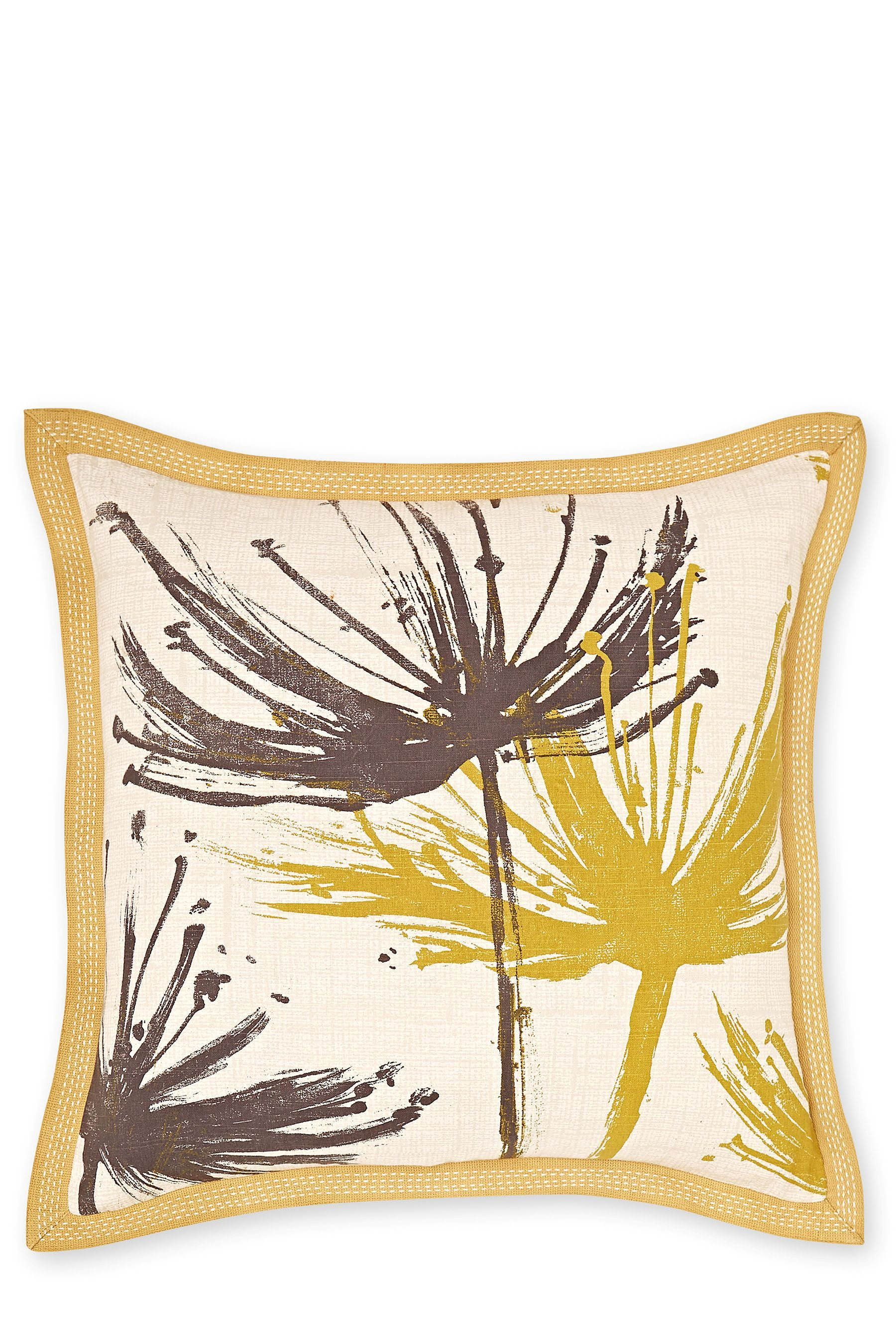 Buy Cushions Buy Ochre Dandelion Cushion From The Next Uk Online Shop