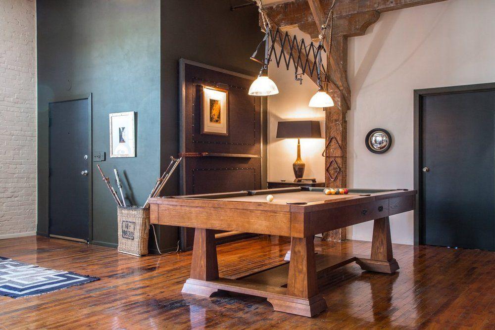 Man Cave Kristan Green : Scott & kristan's inspiring arts district loft house