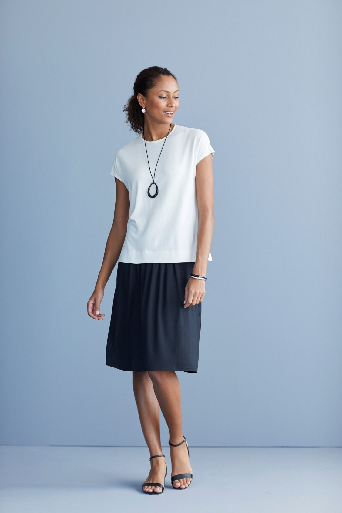 Watch - A skirt line outfit video