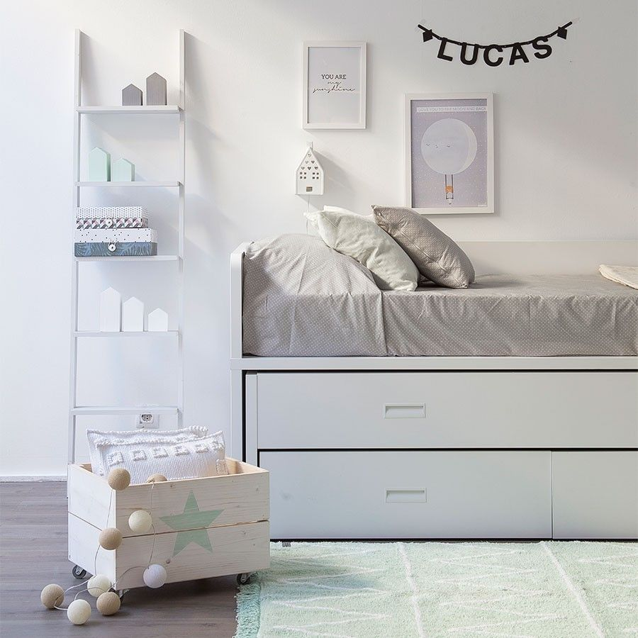 Elmo cama nido camas nido nidos y camas for Cama divan nina