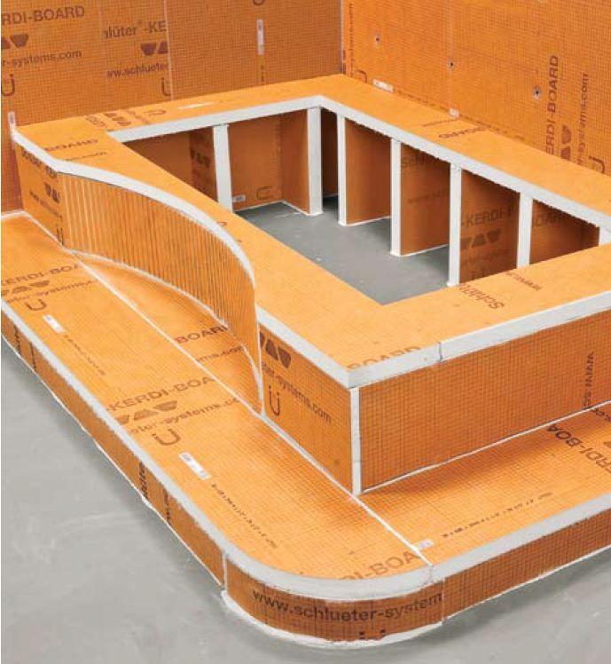 Schluter Kerdi Board Small Bathroom Remodel Designs Bathroom Remodel Designs Master Bathroom Design