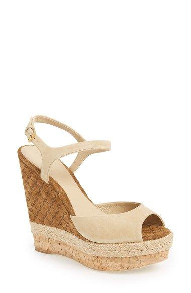 Gucci 'Hollie' Wedge Sandal   Nordstrom