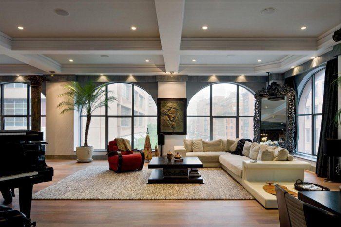 la deco loft new yorkais en 65 images maisons modernes pinterest loft home decor et sweet. Black Bedroom Furniture Sets. Home Design Ideas