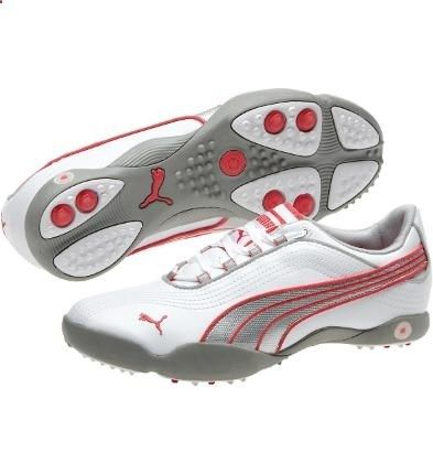 puma shoes red on red pumas women s golf