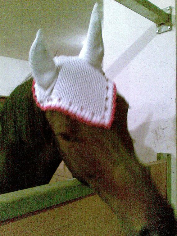 Amigurumi Horse Ears : Patterns pdf for crochet and knit fly mask