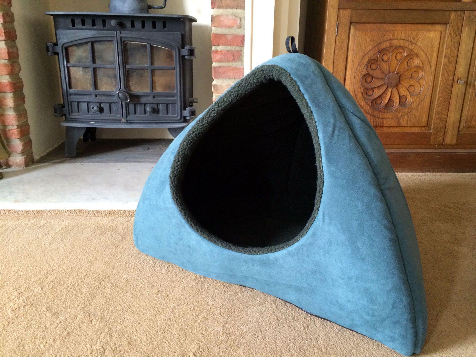 Khaki Green Dog Bed Igloo Large Dog bed, Dog igloo, Dogs