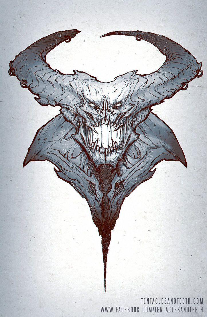 Livestream Sketch 1 by TentaclesandTeeth   Creature ideas ...