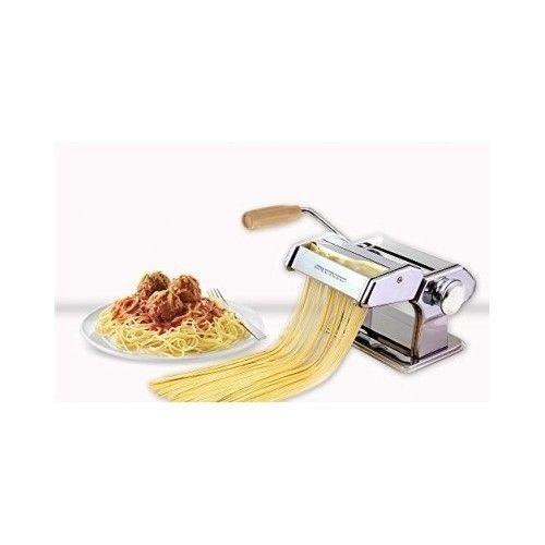 Pasta Maker Vintage Homemade Adjustable Countertop Machine Cutter
