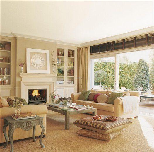 Los mejores 50 salones de el mueble - El mueble cortinas ...