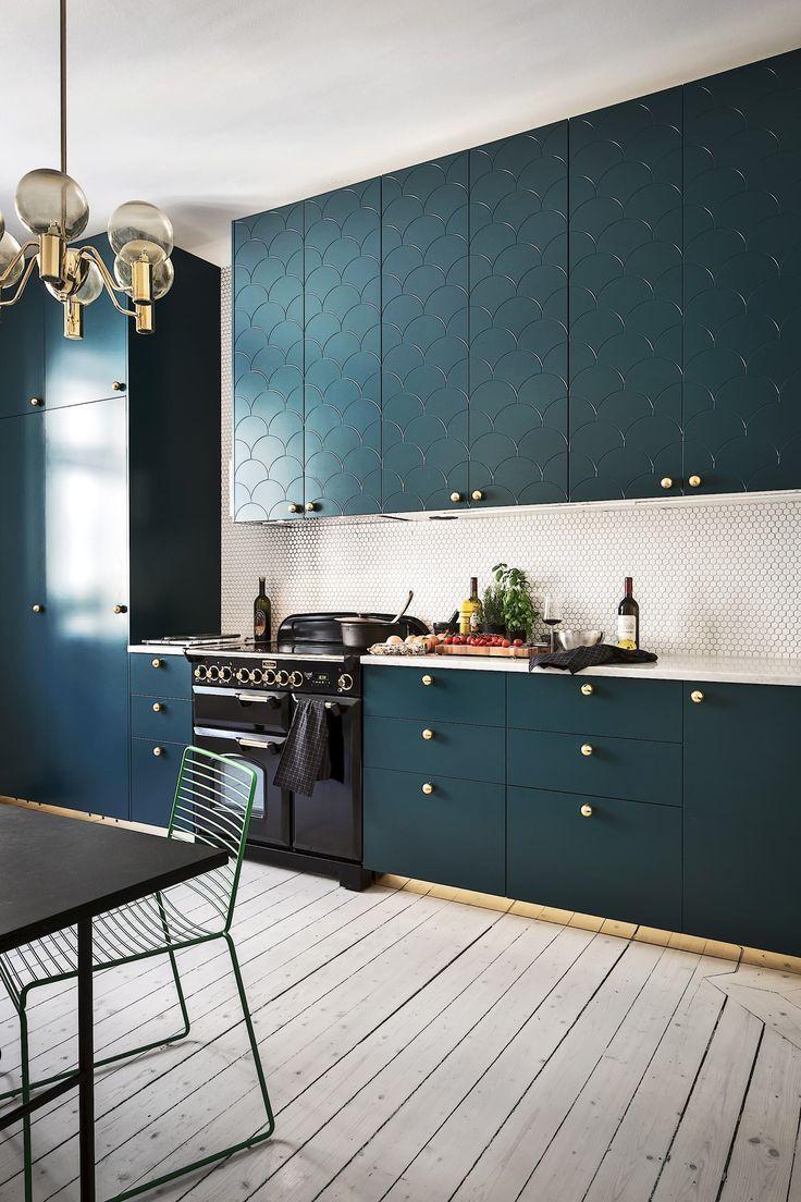 image result for teal blue kitchen kitchen kitchen cabinets rh za pinterest com