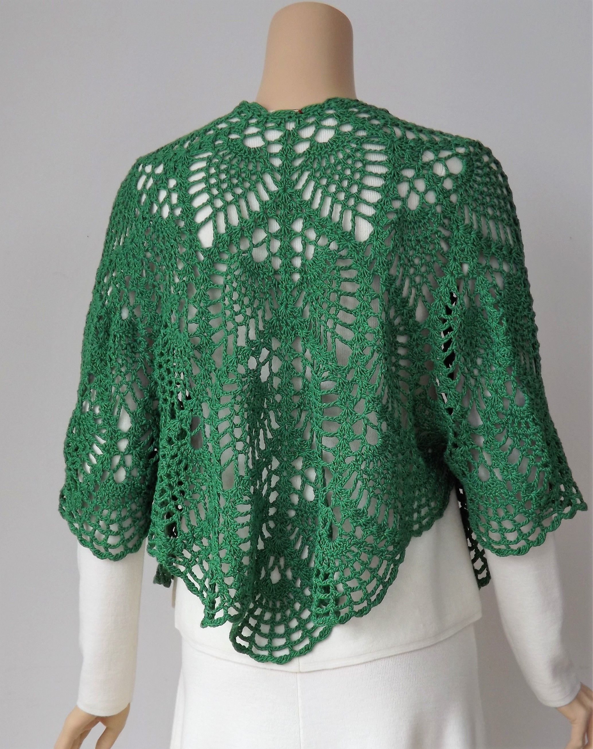 Hasil gambar untuk top down crochet sweater free pattern   Sweater ...