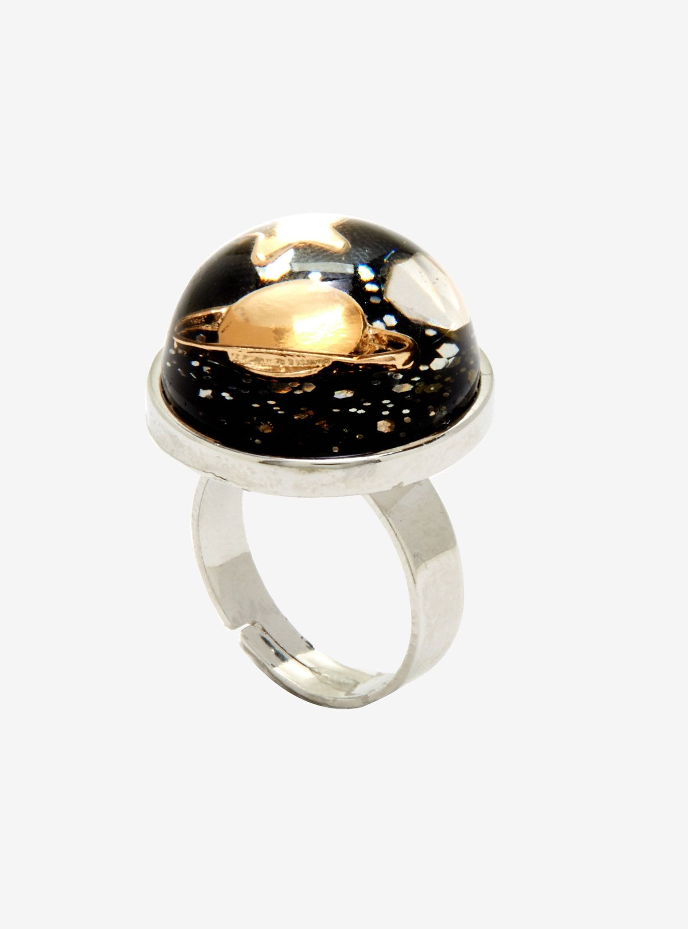 Resin Planet Ring in 2019 | Pin of the Day | Rings, Jewelry, Healing