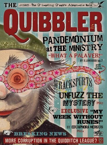 The Quibbler Magazine Part 1 A Revista O Pasquim Parte 1