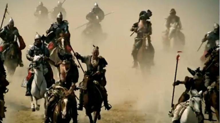 Die Osmanen: Osmanische Reiter auf ihren Pferden