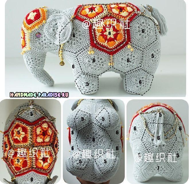 Photo of Индийский слон мотивами африканский цветок…
