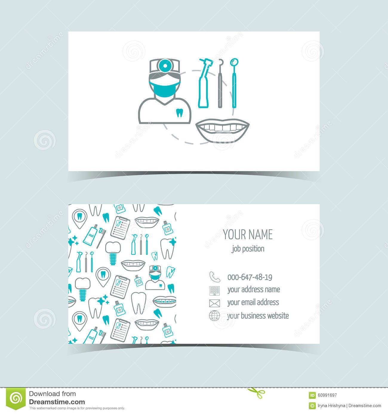 Tarjetas de visita para la cl nica dental productos - Clinicas dentales de diseno ...