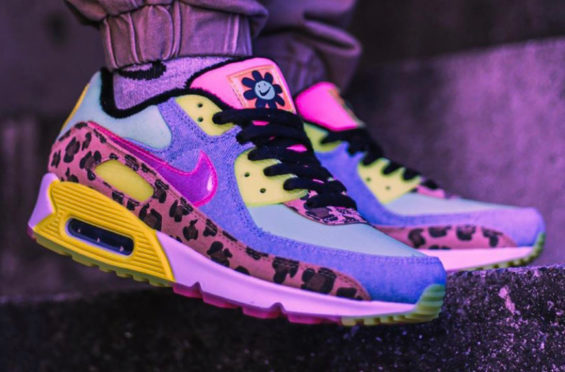 Look For The Nike Wmns Air Max 90 Lx Illusion Green Now Kicksonfire Com In 2020 Nike Air Max Sneakers Air Max 90