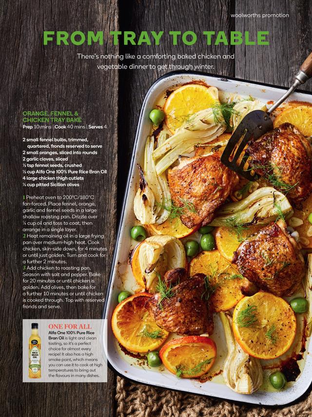 Fresh Magazine Recipes Woolworths Food Magazine Recipes Food