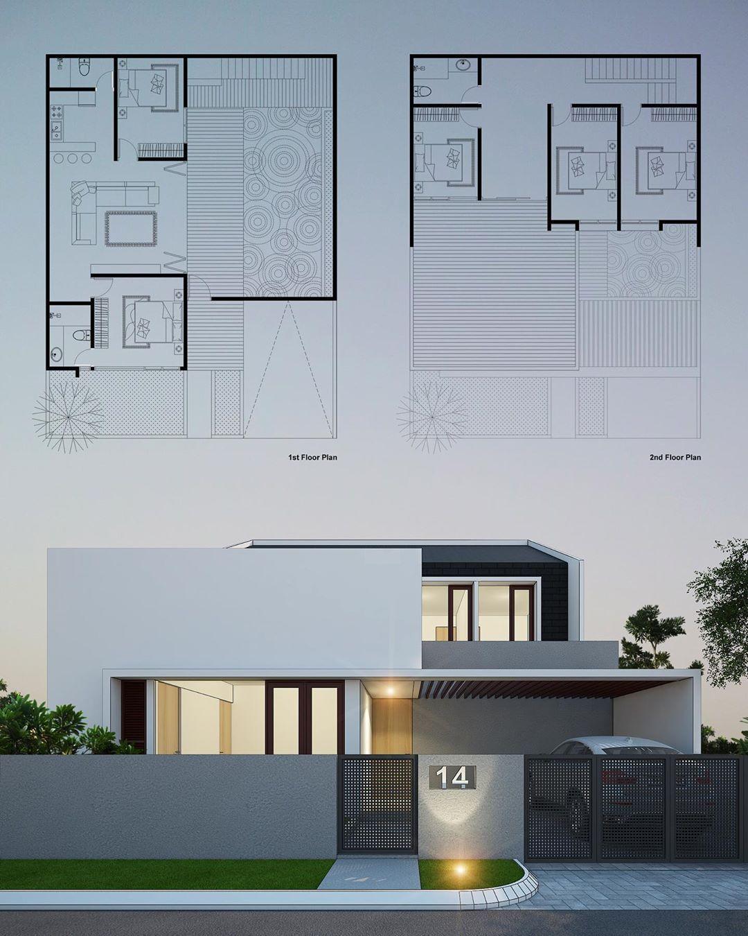 Rekabentuk Id Architecture Design Arsitektur Arsitekturindonesia Desain House Housedesign Arqui Home Building Design Facade House Classic House Design
