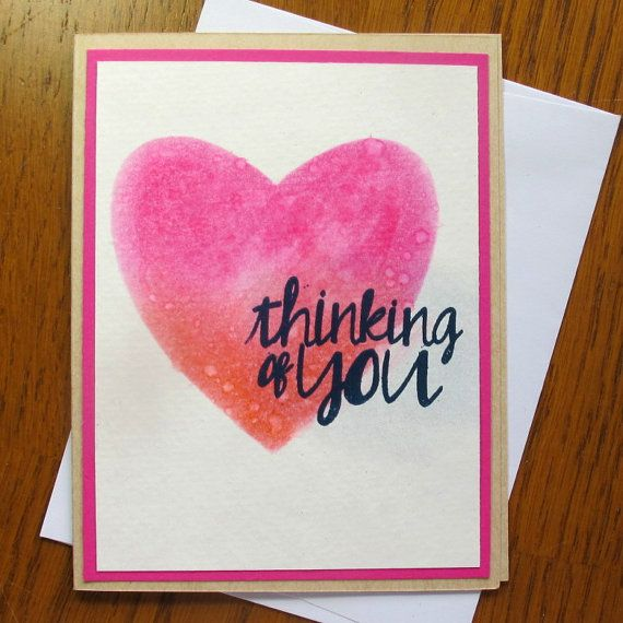 Naughty Valentines Day Card- Thinking of You...Naked // Naughty Card // I  Love You //Funny Romantic Card