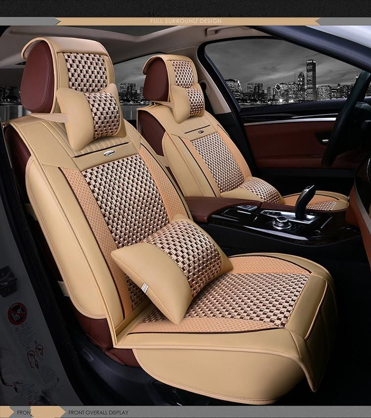 Good Quality Full Set Car Seat Covers For Ford Mondeo 2016 2007 Comfortable Fashion Seat Covers For Leather Car Seat Covers Car Seats Car Interior Accessories