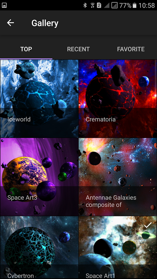 Asteroids 3d Live Wallpaper Live Wallpapers Android Apps Galaxies