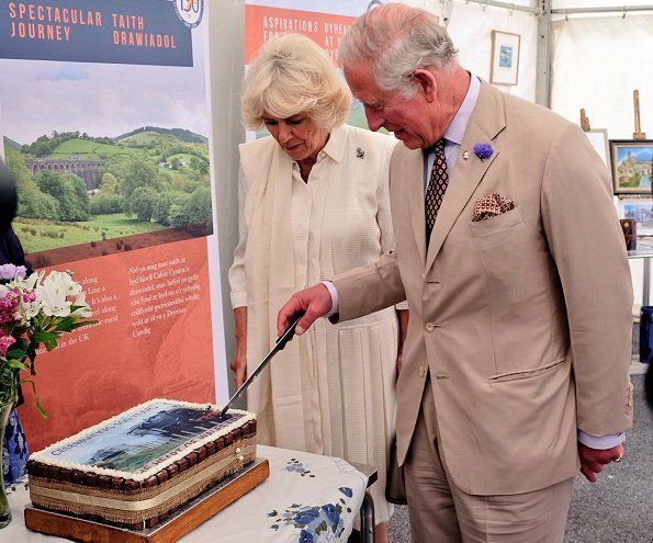 The Prince of Wales and Duchess of Cornwall visited Wales #visitwales