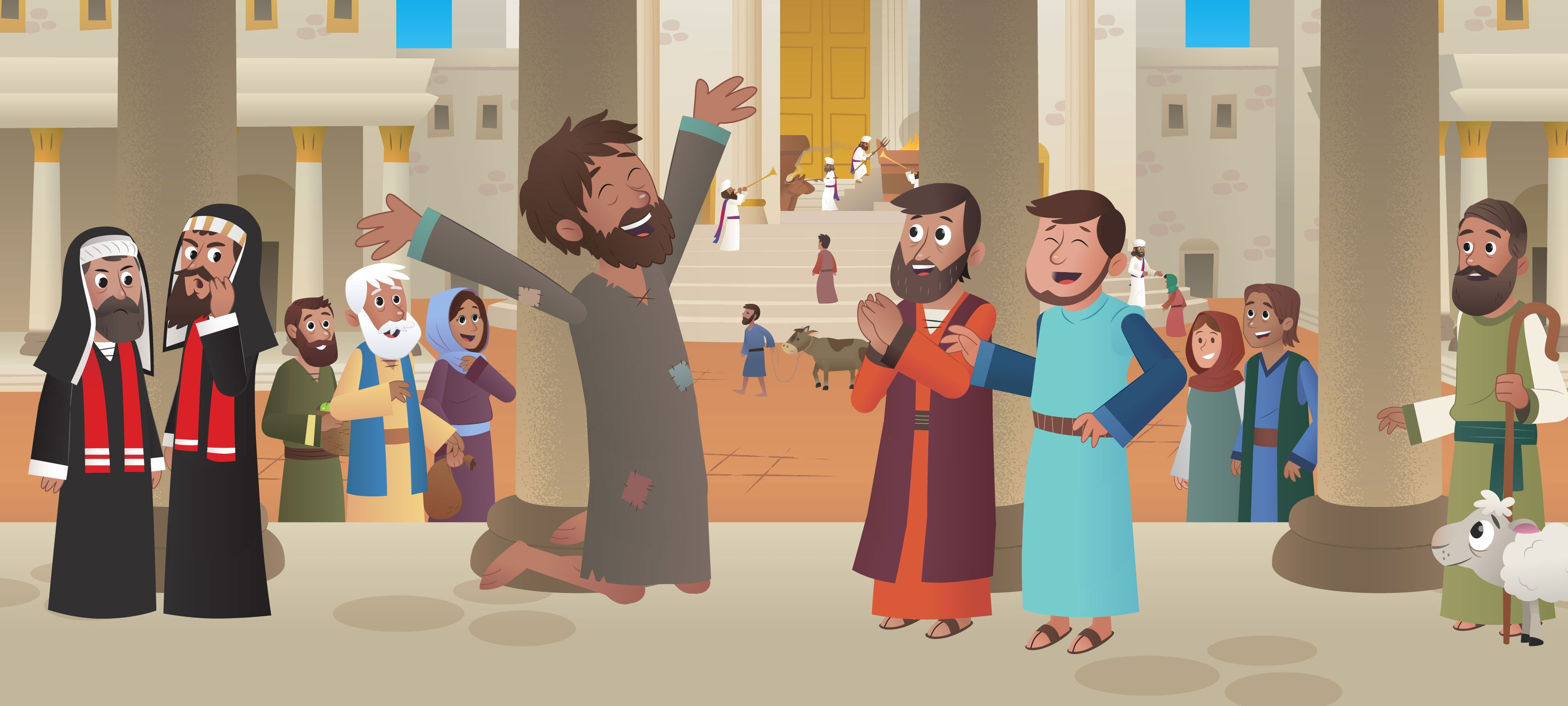 New Bible App for Kids Story Peter Has a Vision
