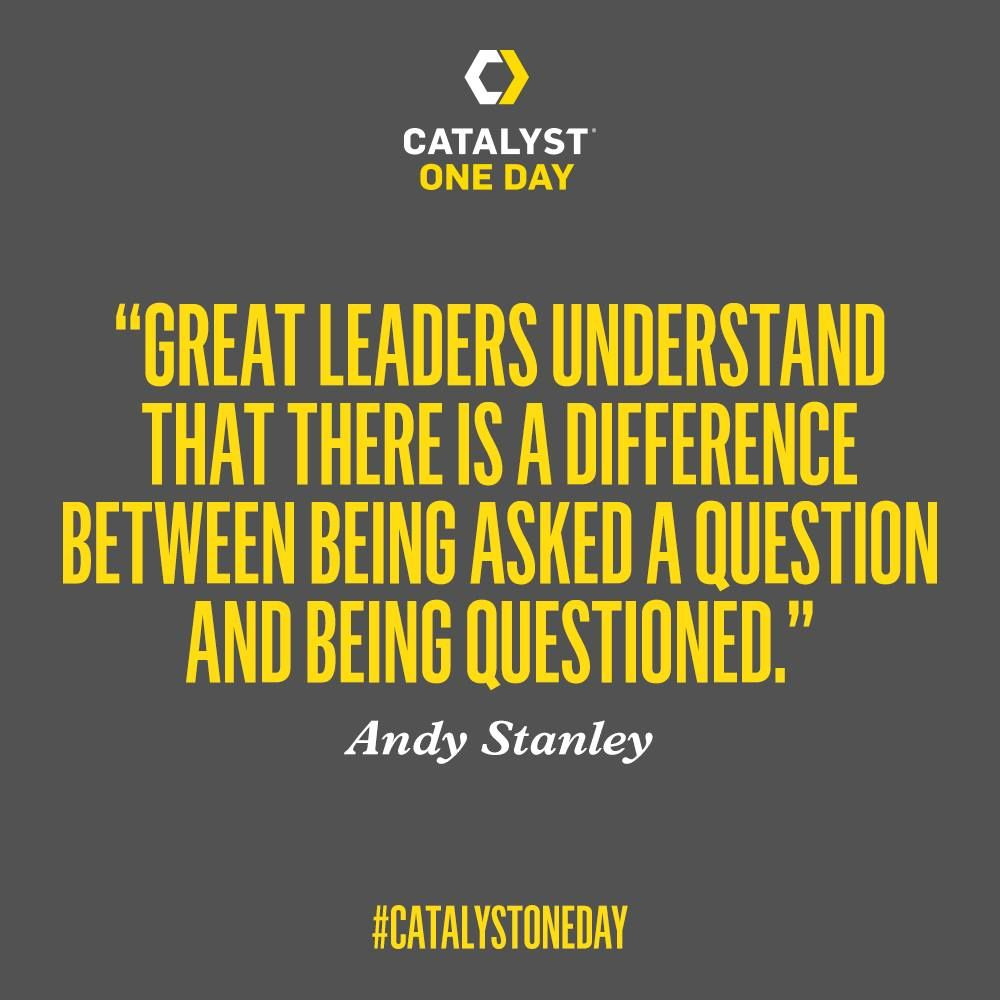 Great Leadership Quotes Mark Of A Great Leader  Quotes  Pinterest  Andy Stanley