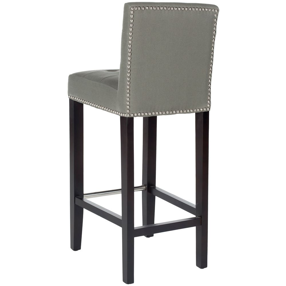 Safavieh Noho Grey Barstool | Overstock.com Shopping - The Best ...
