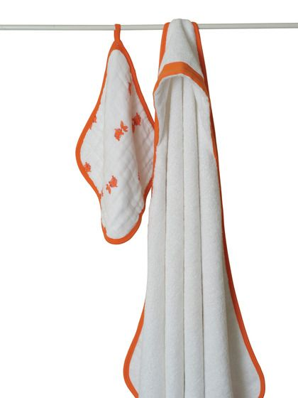 Washcloth & Hooded Terry Towel by Aden and Anais on Gilt.com