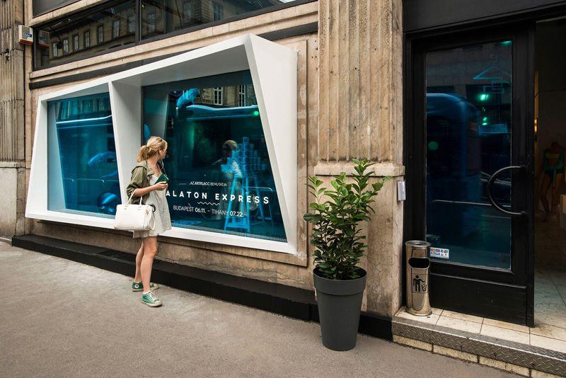 KISSMIKLOS Design A Storefront To Look Like An Aquarium | CONTEMPORIST