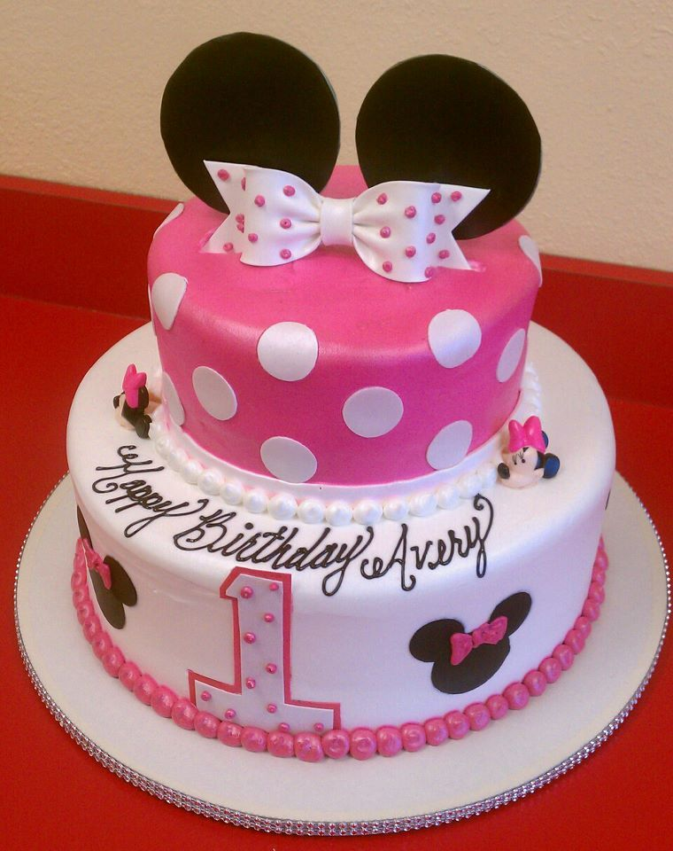 Pin by Crystal Snook on Minnie mouse cakes Pinterest Birthday