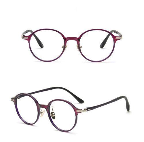 New-Vintage-Round-Glasses-Fashion-Retro-Full-rim-Frame-RX-Eyeglasses ...