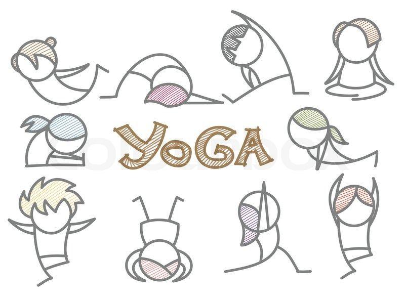 Funny Yoga Clip Art Free Displaying 15 Gallery Images For Cartoon Yoga Images Desenho Yoga Desenhos