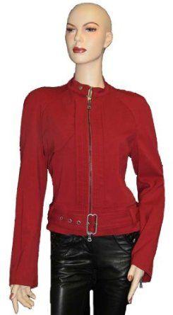 Ferre Womens Jacket Coat Red Wool, L, Red GF Ferre. $119.70