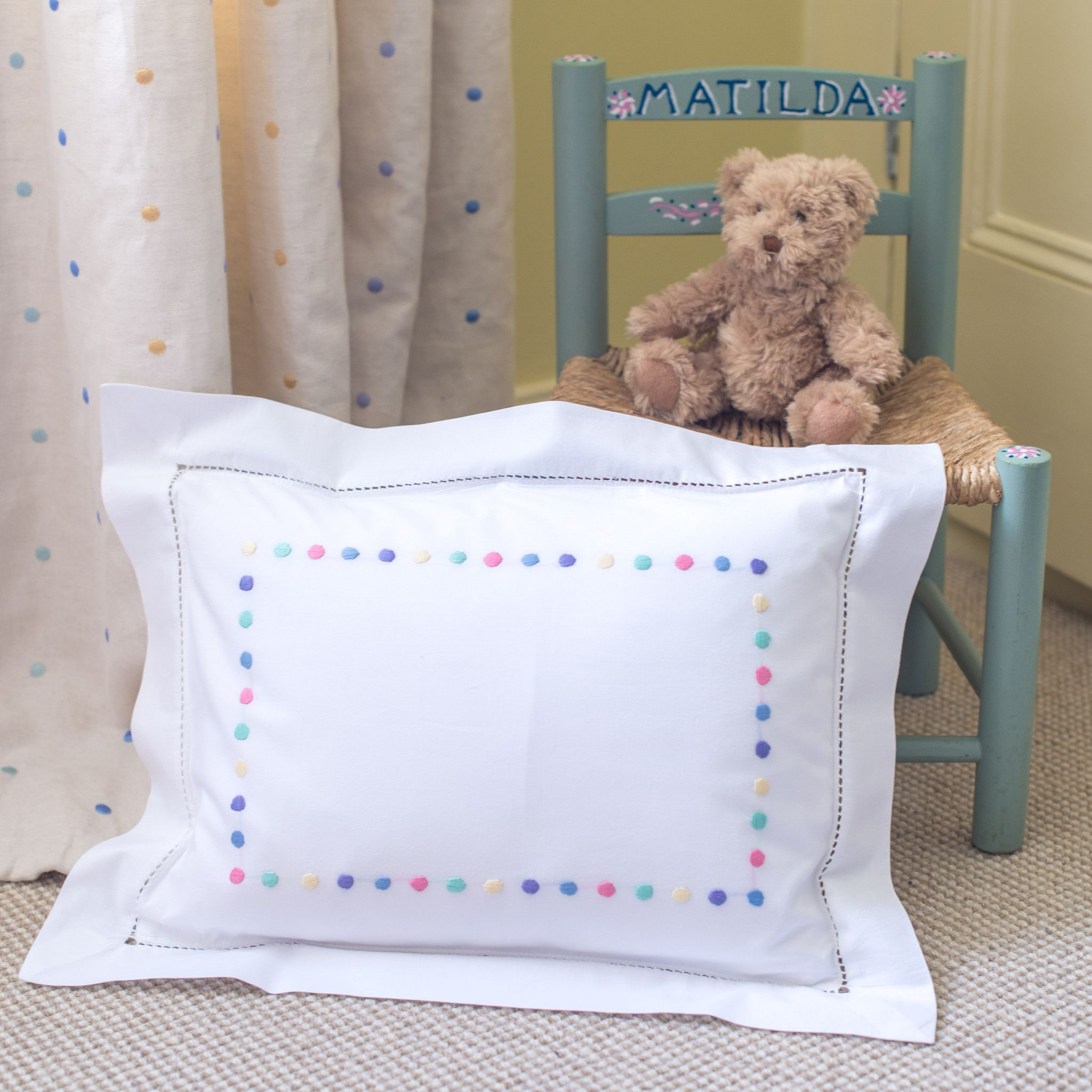 BabyToddler Pillow with Pillowcase