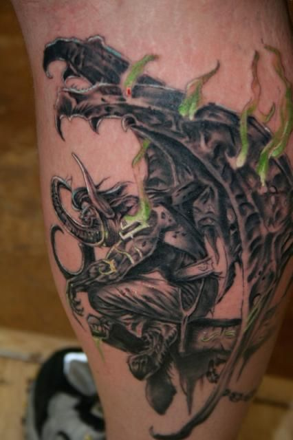 62103d163 Awesome World of warcraft tattoos | Gaming/Ideas Tattoos | Gaming ...