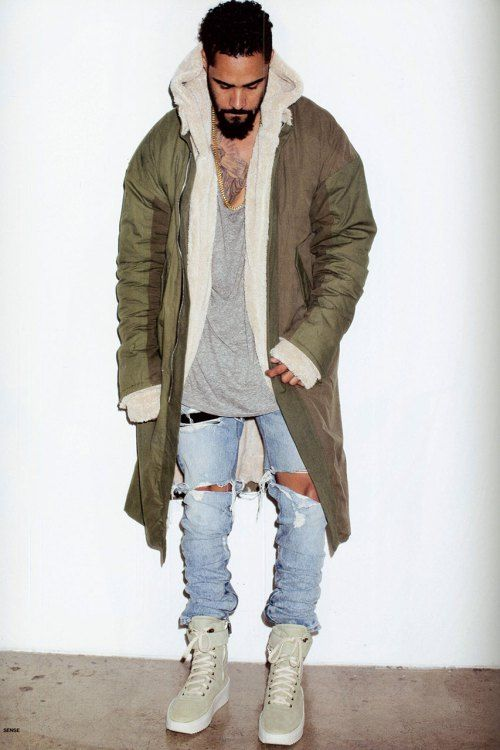 Jerry Lorenzo Models Fear of God's Fourth Collection in 'SENSE' – Women's fashion