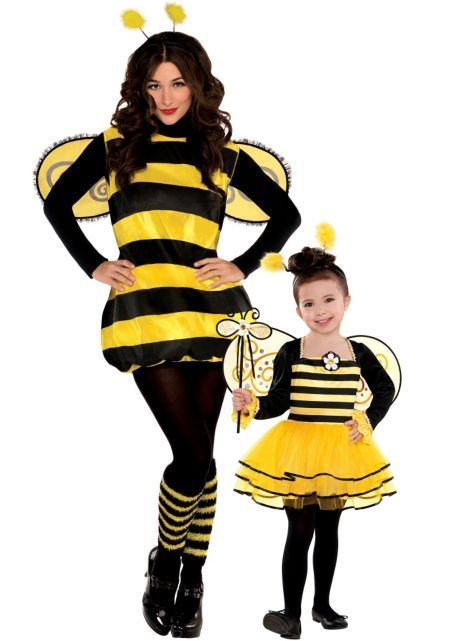 Bee Mommy And Me Costumes Party City Mother Daughter Halloween Costumes Daughter Halloween Costumes Mother Daughter Costumes