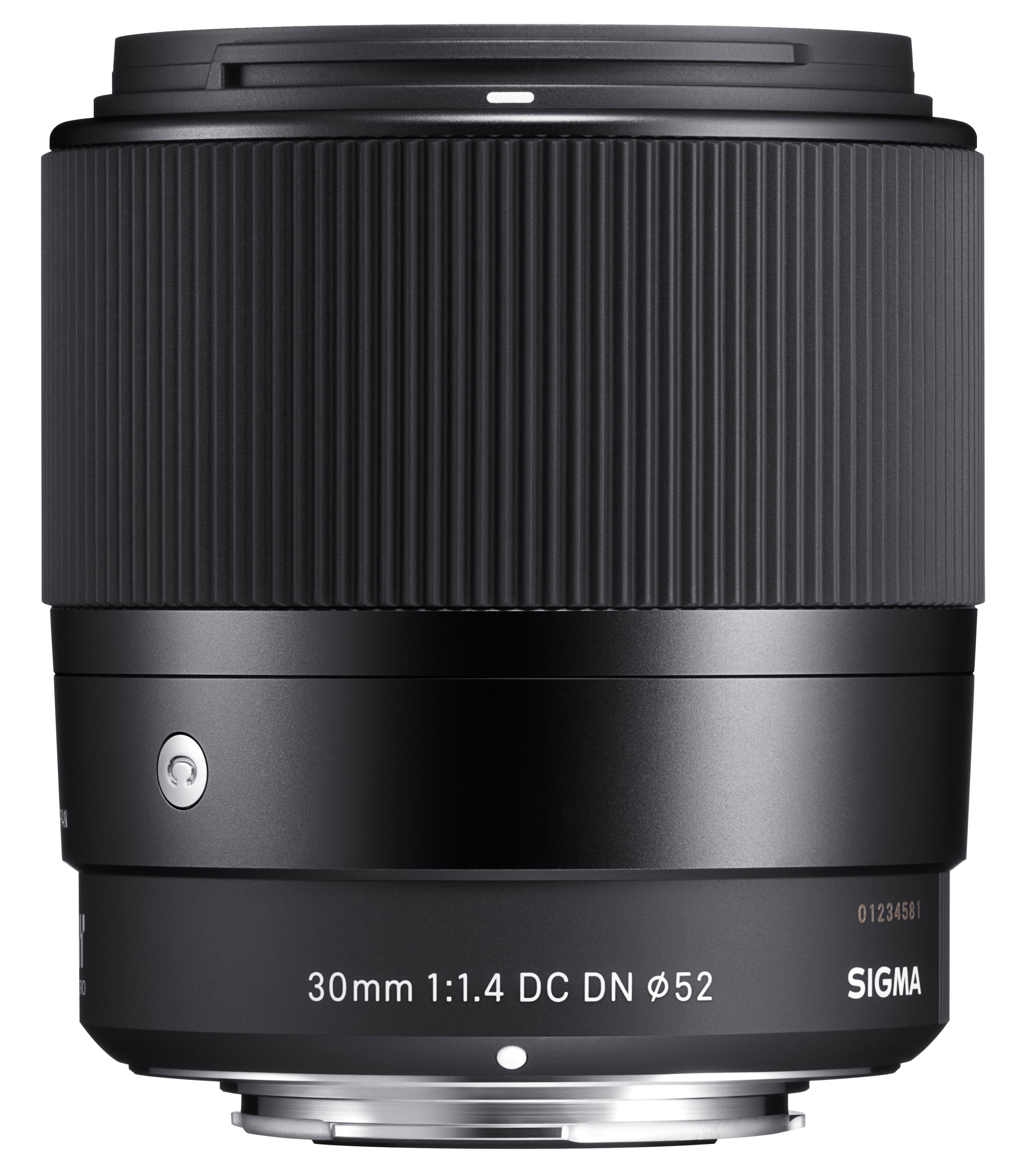 Sigma 30mm F1,4 DC DN Objektiv (Filtergewinde 52mm) für Sony-E ...