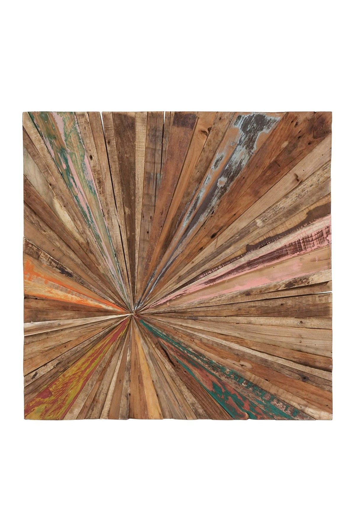 Multi Abstract Teak Wall Decor By Uma On Hautelook Wonder If This Is A Doable Diy